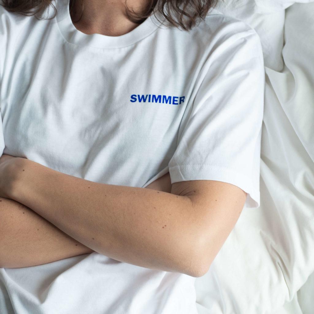 pochette single swimmer lucie petre